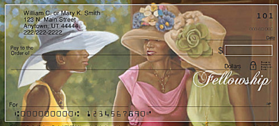 Sunday Hats Personal Checks